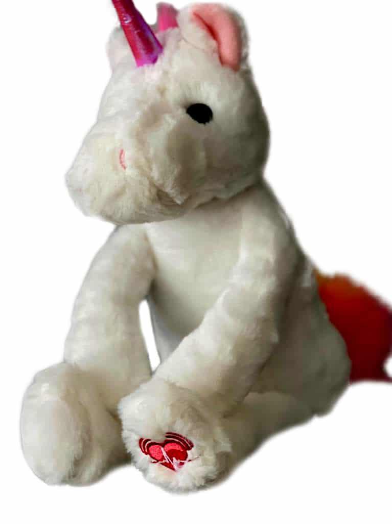 Unicorn baby plush